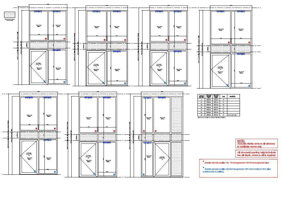 cheap new windows doors curtain wall - terminated project