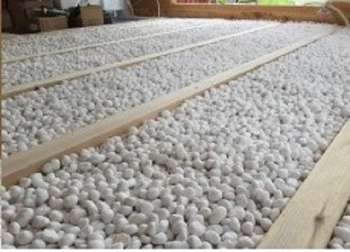 Loose Fill Insulation : Non combustable loose fill expanded glass bead aggregate